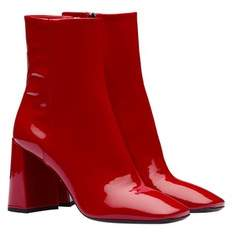 Prada Patent Leather Booties