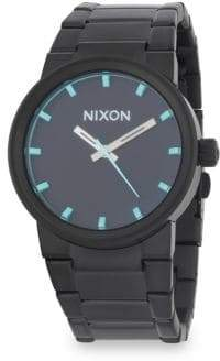 Nixon Cannon Stainless Steel Bracelet Watch