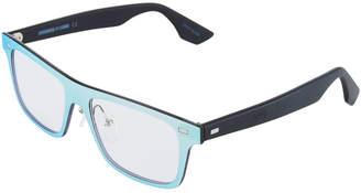 McQ Plastic Rectangle Unisex Optical Glasses