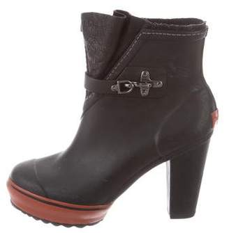 Sorel Rubber Ankle Booties