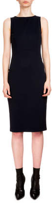 Altuzarra Shadow Sleeveless Sheath Dress, Navy
