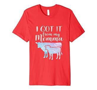I got it from my momma cow t-shirt