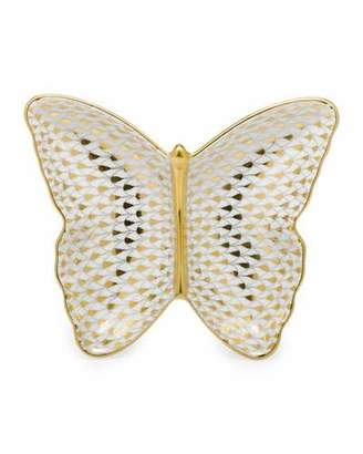 Herend Butterfly Pin Dish