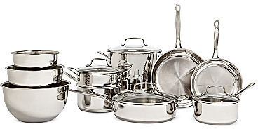 Cuisinart 11-pc. Stainless Steel Cookware Set + BONUS