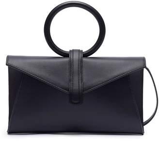 Valery Complét 'Valery' mini metallic leather envelope clutch