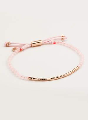Gorjana Power Gemstone Rose Quartz Bracelet for Love