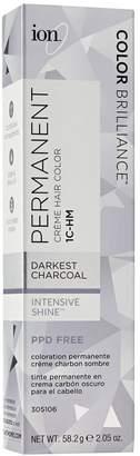 Ion 1C-HM Darkest Charcoal Permanent Creme Hair Color