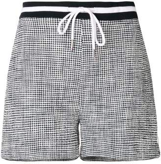 Thom Browne Textured Tweed Shorts