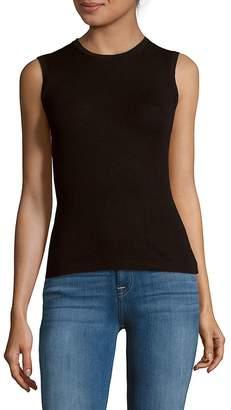Carolina Herrera Women's Cashmere & Silk Sleeveless Top