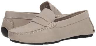 Matteo Massimo Leather Nubuck Penny Women's Slip on Shoes