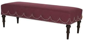 Bentley Jennifer Taylor Home Entryway Bench, Red
