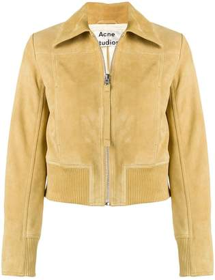 Acne Studios pointed collar jacket