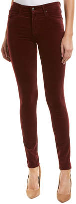 AG Jeans The Farrah Deep Currant High-Rise Skinny Ankle Cut