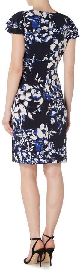 Lauren Ralph Lauren Floral cap sleeve dress