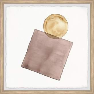 Parvez Taj Brown Coin Purse Framed Wall Art