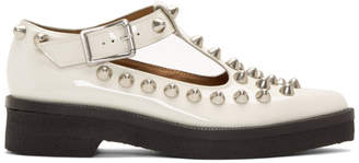 Marc Jacobs White The Mary Jane Loafers