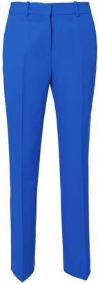 Victoria Beckham Victoria, Blue Straight Leg Pants