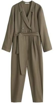MANGO Long soft jumpsuit