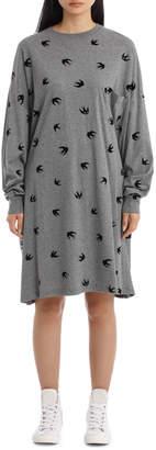McQ Supersized Long Sleeve Dress
