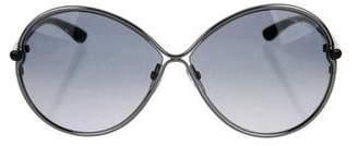 Tom Ford Stefania Oversize Sunglasses