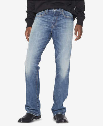 Silver Jeans Co. Men Gordie Loose Straight-Fit Stretch Jeans