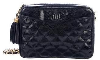 Chanel Lizard Camera Bag