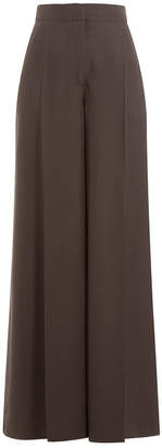 Valentino Silk Wide Leg Pants