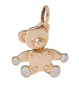 Pomellato Rose Gold and Diamond Orsetto Pendant