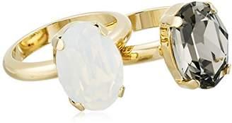 Cara Swarovski Crystal Oval Ring