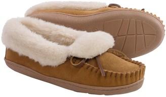 Minnetonka Moccasin Minnetonka Tracy Folded Trapper Slippers (For Women) $29.99 thestylecure.com
