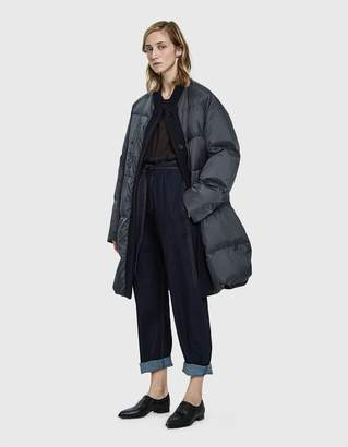 Jil Sander Flou Long Puffer Coat