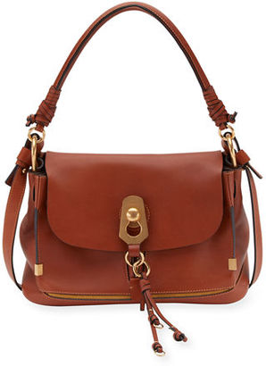 Chloe Owen Small Leather Flap-Top Bag $2,050 thestylecure.com