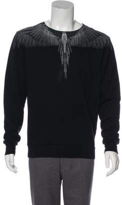 Marcelo Burlon County of Milan Oversize Animal Print Sweatshirt