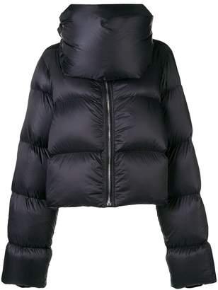 Rick Owens asymmetric padded jacket