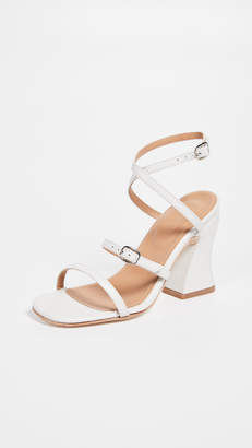 The Palatines Dalia Curved Heel Sandals