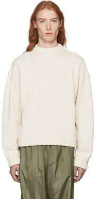 Our Legacy Off-White Sonar Roundneck Sweater