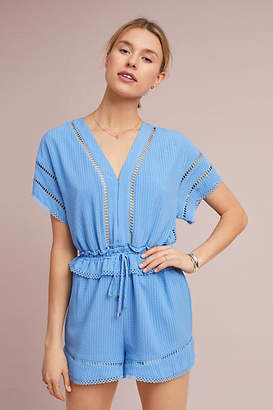 Adelyn Rae Cassie Paperbag-Waisted Romper