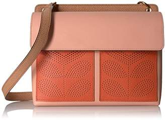 Orla Kiely Punched Pocket Leather Robin