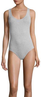Flirtitude Sleeveless Scoop Neck Bodysuit - Juniors