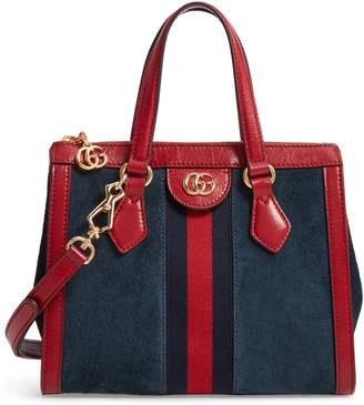 976e6b172f4e Gucci Ophidia Small Suede & Leather Convertible Tote Bag