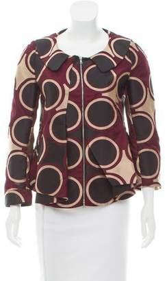 Marni Patterned Silk Jacket