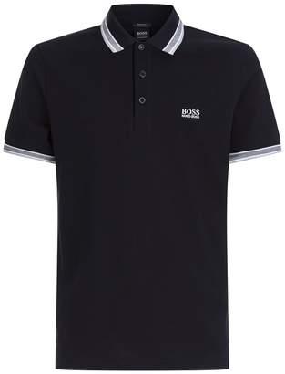HUGO BOSS Piqué Cotton Polo Shirt