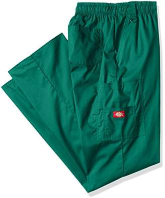Dickies Men's Big-Tall EDS Signature Zip Fly Pull-On Scrub Pant, XXX