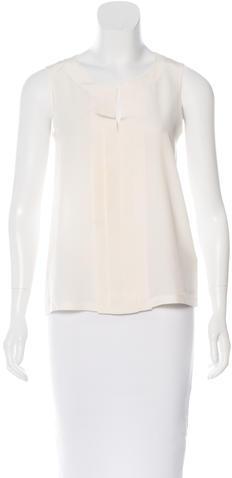 Kate SpadeKate Spade New York Silk Sleeveless Blouse