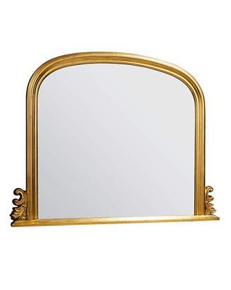Gallery Thornby Large Gold Over Mantel Mirror