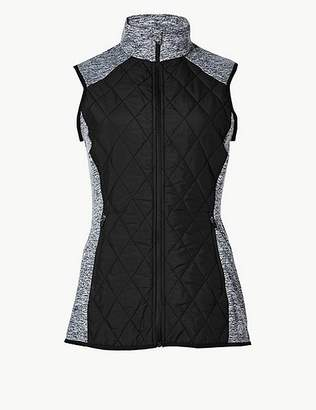 Marks and Spencer Quick Dry Quilted Gilet