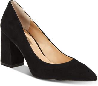 INC International Concepts I.n.c. Bahira Block-Heel Pumps, Created For Macy's Women's Shoes