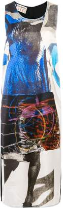 Marni abstract printed dress