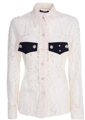 Calvin Klein Lace Long Sleeve Shirt