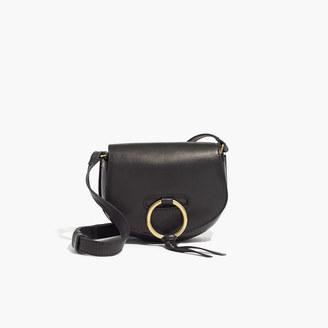 The Lisbon O-Ring Mini Saddlebag $138 thestylecure.com